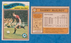 Manchester United Sammy McIlroy Northern Ireland 190